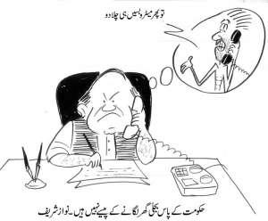 حکومت کے پاس بجلی گھر لگانے کے پیسے نہیں ہیں۔ نواز شریف