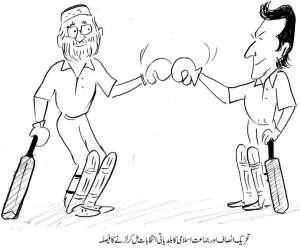 تحریک انصاف اور جماعت اسلامی کا بلدیاتی انتخابات مل کر لڑنے کا فیصلہ