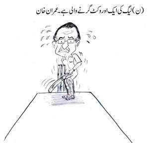 مسلم لیگ ن کی ایک وکٹ اور گرنے والی ہے، عمران خان
