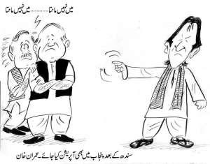 سندھ کے بعد پنجاب میں بھی آپریشن کیا جائے، عمران خان