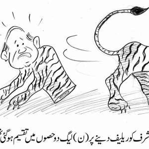 پرویز مشرف کو ریلیف دینے پر ن ..