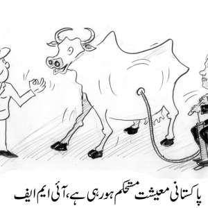 پاکستانی معیشت مستحکم ہو رہی ..