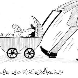 عمران خان جہانگیر ترین کے زیر ..