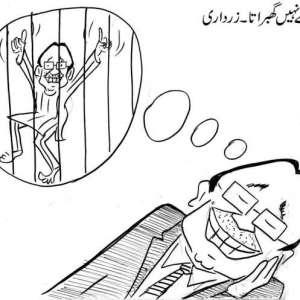 جیل سے نہیں گھبراتا، آصف علی ..