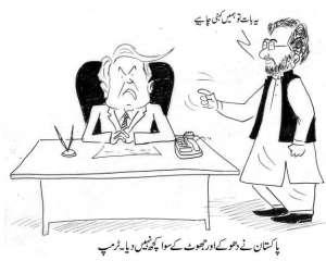 پاکستان نے ہمیں دھوکے اور جھوٹ کے سوا کچھ نہیں دیا۔ ٹرمپ