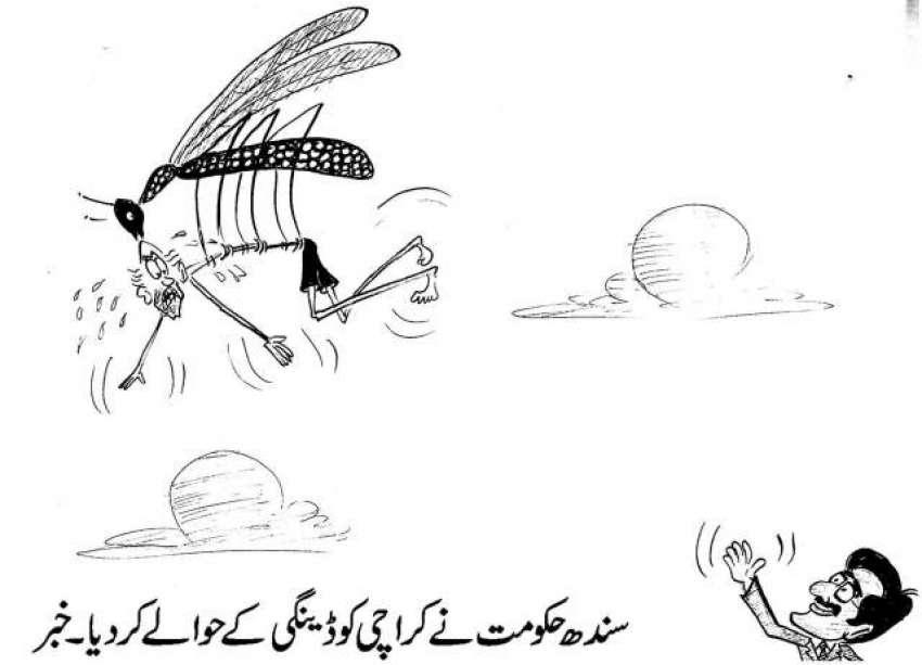 سندھ حکومت نے کراچی کو ڈینگی کے حوالے کر دیا - خبر