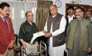 حکومت کھیلوں کی سرگرمیوں کے لئے اقدامات اٹھا رہی ہے،ریاض حسین پیرزادہ ..