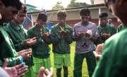 اسٹریٹ چائلڈ فٹبال ورلڈکپ،برونڈی کے ہاتھوں پاکستان کو شکست