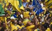 2014 ورلڈ کپ کے میزبان برازیل میں فٹبال فیورعروج پرپہنچ گیا