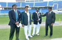 دبئی ٹیسٹ، سری لنکا کی پاکستان کیخلاف ٹاس جیت کر فیلڈنگ