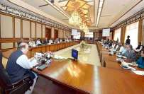 وفاقی کابینہ کے اجلاس میں داخلی سلامتی پالیسی کے مجوزہ مسودے پر تفصیلی ..
