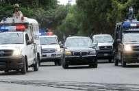 لاہور میں وزیر اعظم کے سیکیورٹی اسکواڈ کی 2 گاڑیاں حادثے کا شکار، 6 اہلکار ..