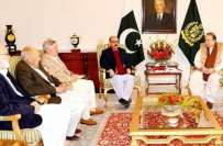 وزیر اعظم کی حکومتی مذاکراتی کمیٹی کے اراکین سے ملاقات