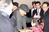 صدر ممنون حسین تین روزہ سرکاری دورے پر بیجنگ پہنچ گئے