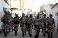 کراچی،  حسین ڈی سلوا ٹاون میں رینجرز کا آپریشن، 300 اہلکار شریک