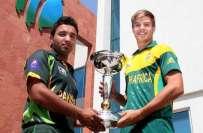 جونیئر کرکٹ ورلڈ کپ،پاکستان اور جنوبی افریقہ فائنل میں آج آمنے سامنے ..