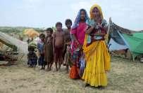 صحرائے تھر میں قحط سالی ، بھوک نے انسانی زندگیوں کو نگلنا شروع کر دیا