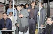 کراچی کی آبادی لاہور سے کہیں زیادہ ہے،میٹر بس جیسے منصوبے کی اشدضرورت ..