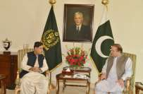 وزیر اعظم نواز شریف سے اختر مینگل کی ملاقات ، بلوچستان کی صورتحال پر ..