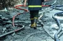 چین ،کپڑے کے گودام میں آگ لگنے سے 12افرادہلاک ،26زخمی،آگ فیکٹری مالک ..