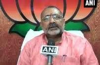 بی جے پی رہنماء کے مسلمان مخالف بیان پر وارنٹ گرفتاری جاری ،گری راج ..