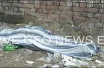 لاہور، مختلف مقامات سے دو لاشیں برآمد