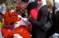 ویلنٹائن ڈے منانے پر پانچ سعودی شہریوں کو 32سال قید،4500کوڑوں کی سزاکا ..