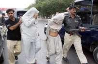کراچی، شاہ فیصل کالونی میں پولیس مقابلے کے دوران نالے میں کودنے والے ..