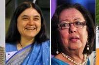 بھارت کی 67سالہ تاریخ میں پہلی مرتبہ چھ خواتین بھی کابینہ میں شامل،آزاد ..