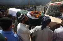 کراچی،وزیراعلیٰ قائم علی شاہ کا ایئرپورٹ حملے میں شہید و زخمی سیکورٹی ..