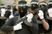 حماس نے اسرائیلی حملوں سے پیدا ہونے والی صورتحال میں جنگی ترانے بجانا ..