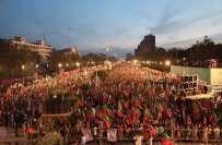 سونامی مارچ کا توڑ،مسلم لیگ ن کا ملک بھر سے قافلے ڈی چوک لانے کا فیصلہ