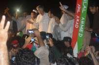 وزیراعلیٰ خیبرپختونخوا کی قیادت میں تحریک انصاف کا قافلہ اسلام آباد ..