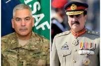آرمی چیف جنرل راحیل شریف سے ایساف کمانڈر جنرل جون کیمبل سے ملاقات، ..