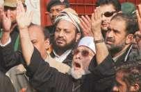 طاہر القادری ایک مرتبہ پھر آسمانی مدد کیلئے پرامید ، کارکن مایوس نہ ..