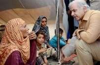 وزیراعلیٰ پنجاب کا تین بچیوں کا جہیز بہہ جانے کی خبر کا نوٹس