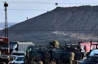 داعش کے جنگجو ترکی کی سرحد کے قریب شام کے قصبے 'کوبانی' میں داخل ، ..