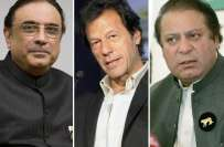 ملک کی اہم حکومتی، سیاسی و مذہبی شخصیات،سیاسی پارٹیوں کے سربراہان، ..