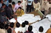 گھرکی ٹرسٹ ہسپتال میں قیامت صغری کا منظر ، مرد و خواتین دھاڑیں مار مار ..