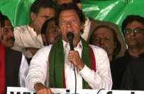 سونامی 21 نومبر کو لاڑکانہ پہنچے گا، عمران خان