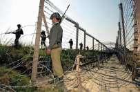 نیزہ پیر سیکٹر میں بھارتی فوج کی بلااشتعال فائرنگ، ایک شہری زخمی