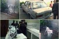 کراچی : کتے کو پتھر مارنے پر گولیاں چل گئیں، ایک شخص جاں بحق، 2 زخمی