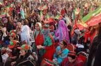 تحریک انصاف کاجلسہ ضلعی انتظامیہ سے کئے گئے معاہدے میں مقررہ وقت سے ..