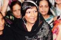 عمران خان کی بہنوں کو سیکیورٹی پاس نہ ہونے کی وجہ سے کنٹینر پر جانے ..