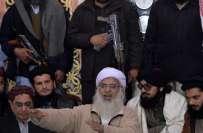 مولانا عبدالعزیز نے گرفتاری نہ دینے کا فیصلہ کرلیا۔۔۔