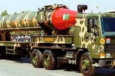 جوہری طاقت رکھنے والے 9 ممالک میں پاکستان ایٹمی سیکیورٹی میں سب سے زیادہ ..