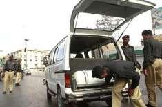 کراچی ،دھماکوں کے لیے بارود سے بھری14گاڑیاں تیار کیے جانے کا انکشاف ..