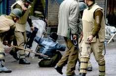 بھارتی انتظامیہ کے طلباء پر ظالمانہ روئیے کے خلاف احتجاجی مظاہرے ، ..