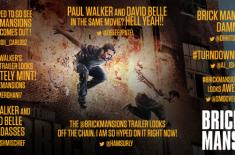 """ہالی ووڈ کے آنجہانی اداکار پال واکر کی فلم """"برک مینشنز"""" کا ٹریلر جاری' .."""