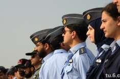 صدر مملکت نے یوم پاکستان پر پاک فضائیہ کے بائیس افسروں کیلئے ملٹری ..